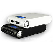 12000mAh LED Display Universal USB Power Bank