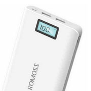 Romoss Portable Power Bank 20000mah with dual usb