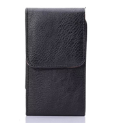 Vertical Flip Leather Case Waist Bag with Back Splint for iPhone 6/6S