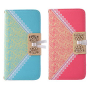 Lady lace Flip Leather Case for iphone 6 plus  Model No.: SW-LPC12 Color: Black,Purple,Pink,Green,Blue,Red In stock: Yes  Contact us  Feature: 1. Brand new  2. Design to perfect-fit precision for your phone  3. Simple, comfortable, easy to carry  4. It adequately protect devices from the normal scratches, provides protection from scratches, dirt, tear and wear  5. All buttons and ports are easy to access  6. The leather material is low carbon, non-toxic, clean, nontoxic to humans, can be assured to carry, protect the health of you and your family  7. Specifically fits for iPhone 6 plus  Compatible with	Apple:  iPhone 6 plus Material: PU Leather Subject	Adornment: Surface,Embossment, Diamante Styles: Horizontal Flip, Wallet, With Holder, With Card Slot, with Lanyard User: For Her   This model also available for: iphone4/4s iphone 5/5s/se iphone 6/6s samsung s4 samsung s5 samsung s6 samsung s6 edge samsung note4 samsung note5  More images:
