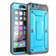 Impact resistant double layer hybrid shockproof mobile phone case for iphone6&6s