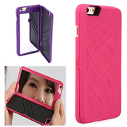For iphone6/6s mirror back cover phone case with credit card holder