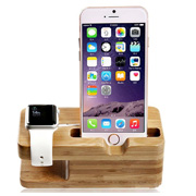For Apple Watch Wooden iwatch Battery Charger Holder Stand