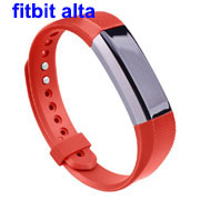 Soft Silicone Wrist Sport Watch Band for Fitbit Alta