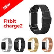 Milanese Loop Watch Band Bracelet for Fitbit Charge 2