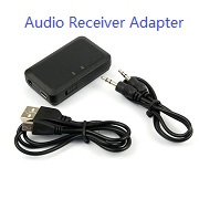 Wireless Bluetooth 3.0 Audio Music Receiver Adapter For 3.5mm Stereo Speaker